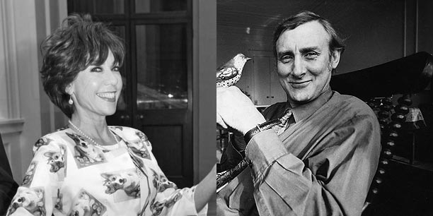 How we Met: Kathy	Lette & Spike Milligan image